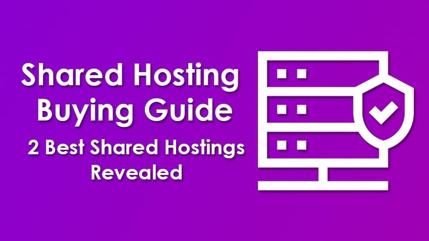 2 Best Shared Hostings Revealed